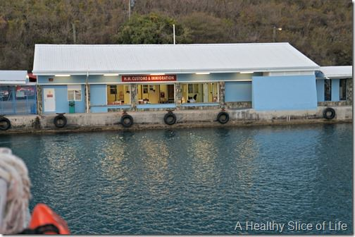 sailing in the BVI- island time- Tortola customs
