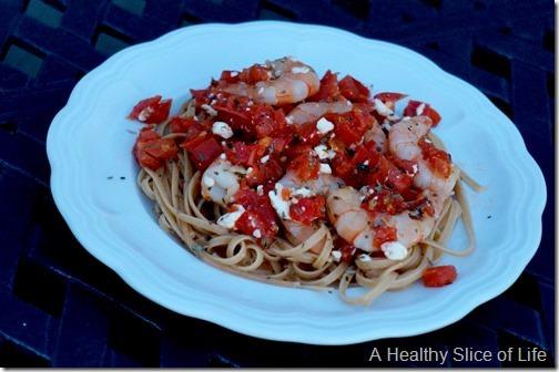 shrimp, greek style
