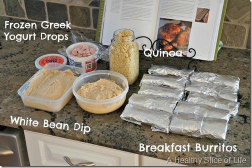 Weekly meal planning- food prep