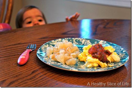 munchkin meals- 18 months old- breakfast