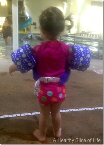 20 months old- swimming
