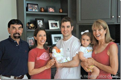 celebrating moms- new family picture