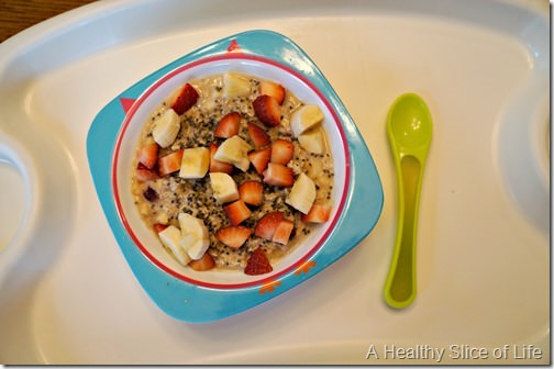 munchkin meals- what a 19 month old eats- breakfast