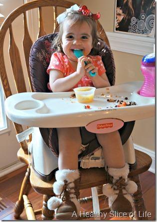 munchkin meals- what a 19 month old eats- dessert