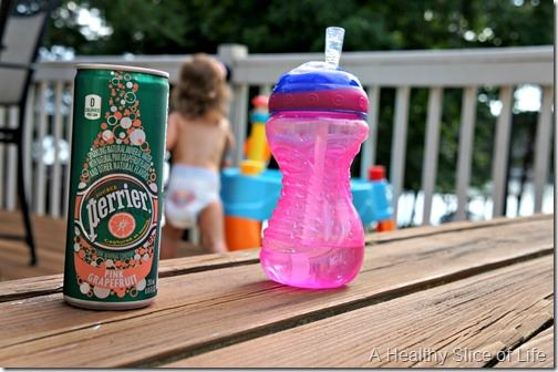 5 foods to try- Perrier sparkling water can