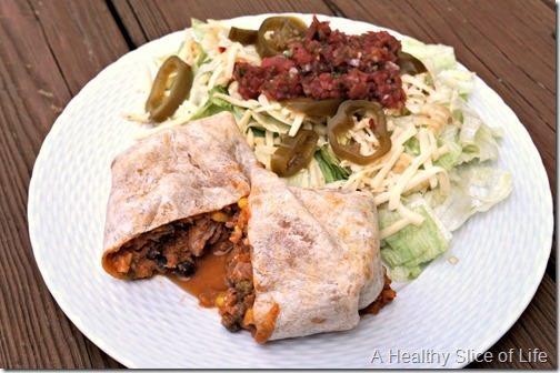5 foods to try- red's all natural burrito lunch