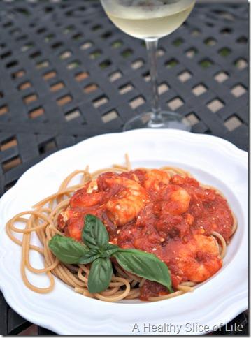 5 foods to try- shrimp dinner