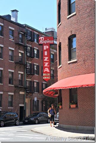boston girls weekend- day 2- Regina's Pizza