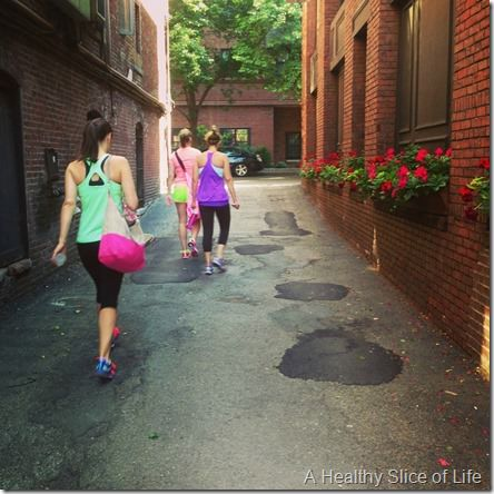 boston girls weekend- day 2- equinox