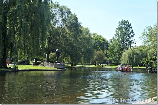 part 2 girls trip to boston- boston common swan boats