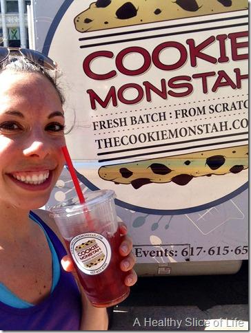 part 2 girls trip to boston- cookie monstah raspberry tea