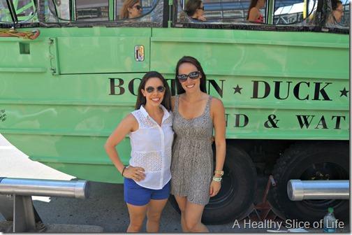 part 2 girls trip to boston- duck tour