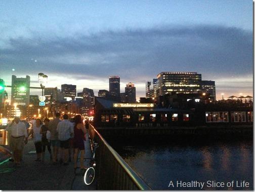 part 2 girls trip to boston- walking to empire