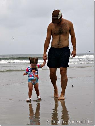 bald head island- daddy daughter beach