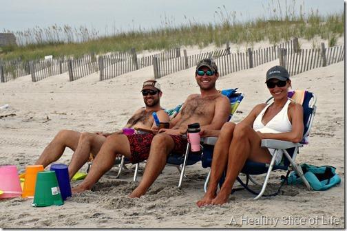 bald head island- family beach