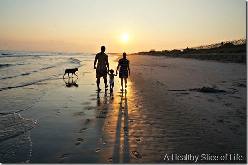 bald head island- family walk