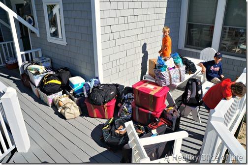 bald head island nc- luggage