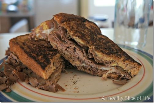 bald head island- roast beef sandwich