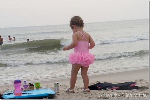 bald head island- toddler beach