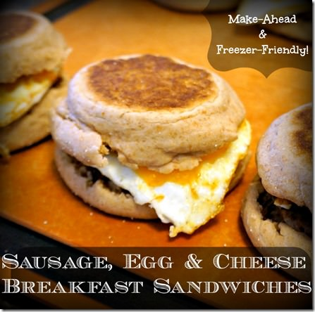healthy freezer friendly breakfast sandwiches make ahead for the week thumb David's New Favorite On the Go Breakfast