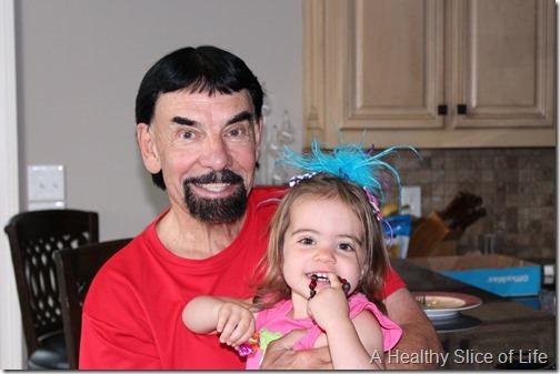 maya's baby shower- hailey and papa john