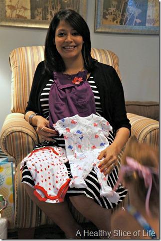 maya's baby shower- mama to be