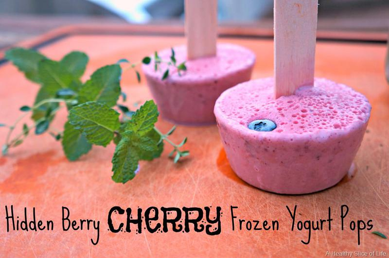 In the Kitchen with My Toddler: Hidden Berry Pops
