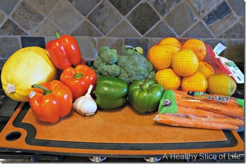 budget meal plan week 4- healthy home market produce