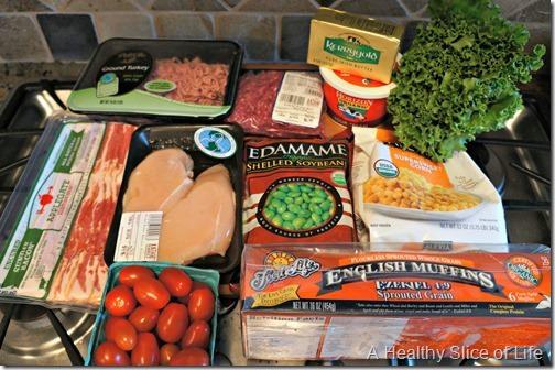 budget meal plan week 4- protein