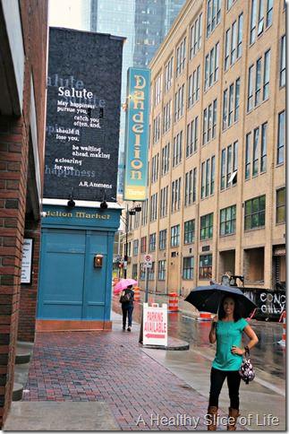 dandelion market charlotte- outside