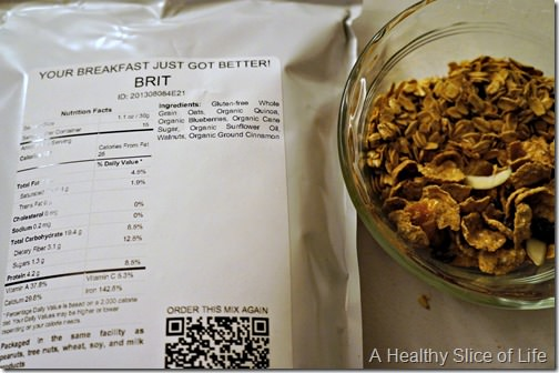 eating for balancing blood sugar- granola
