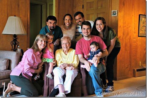 green bay- grandma betty- family