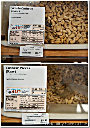 grocery budget focus- bulk bin savings
