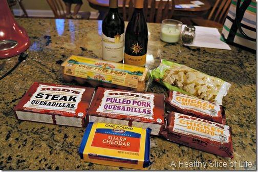 grocery budget focus- in between grocery stop