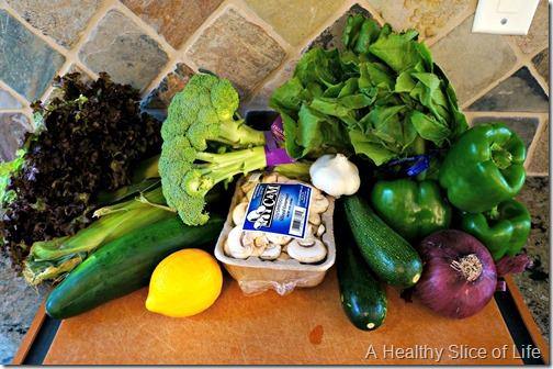 meal plan on a budget- whole foods haul- produce