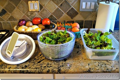 meal plan on a budget- whole foods haul- salad spinner