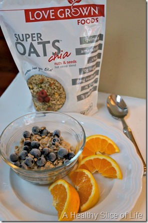recommitting to quality food- LOVE GROWN super oats