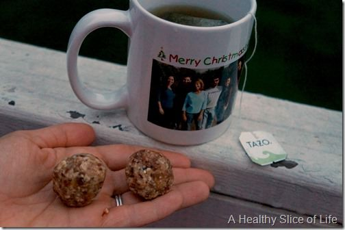 recommitting to quality food- homemade lara balls