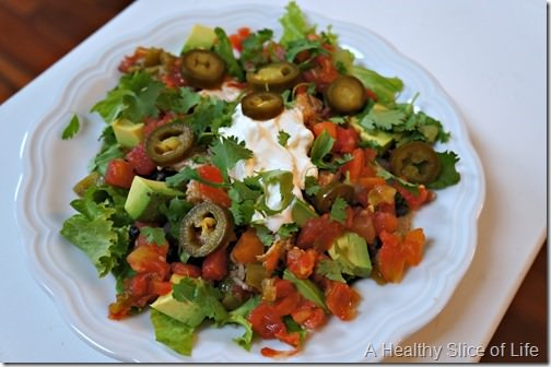 recommitting to quality food- mexi salad