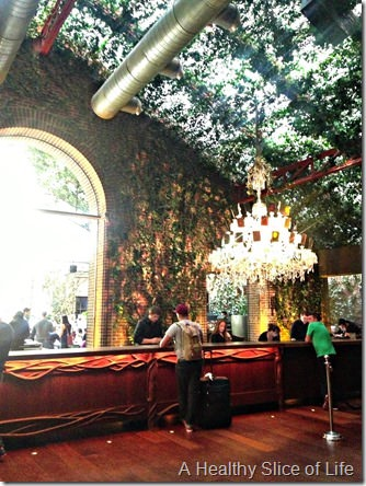 NYC Part 1- the Hudson hotel lobby