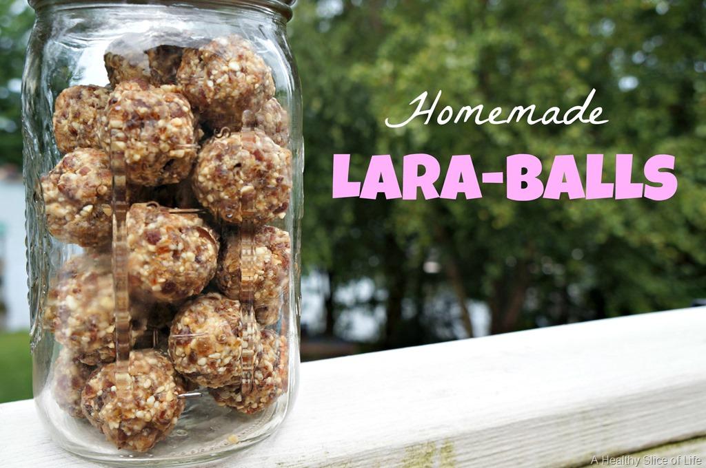 Homemade Lara-Balls