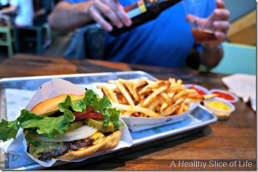 nyc part 3- shake shack burger