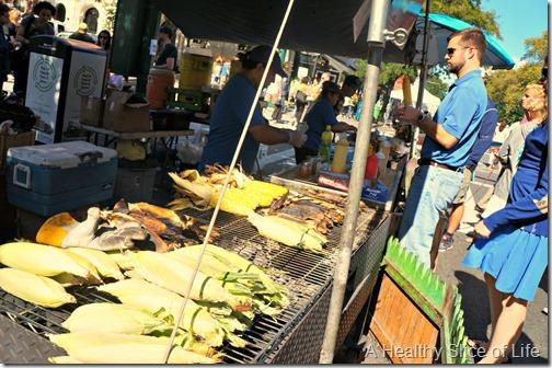 nyc part 3- street fair roasted corn