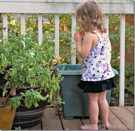 weekend happenings- hailey picks a pepper