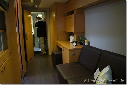 Annapolis boat show 2013- Fountaine Pajot Helia master hull