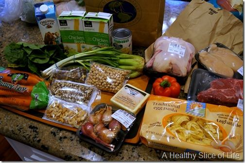 Healthy Home Market Davidson - weekly haul