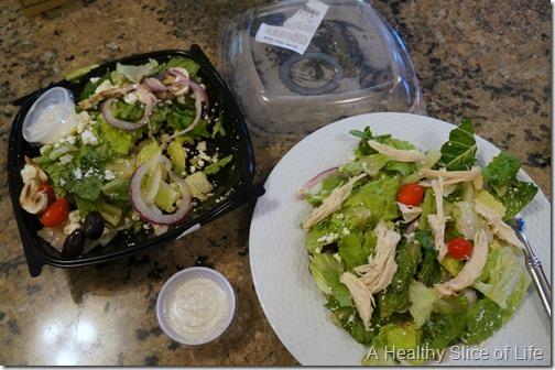 first trimester cravings- fresh market salads