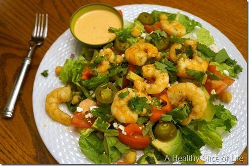 pregnancy eats- dinner salad