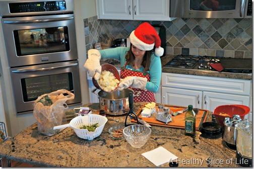 christmas- dinner prep
