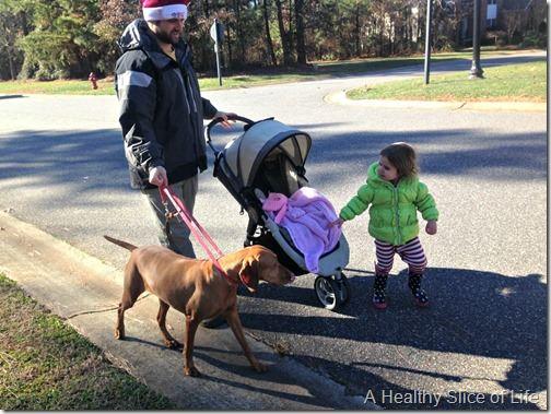 christmas- family walk
